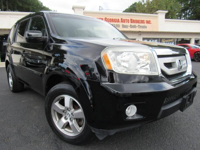 2010 Honda Pilot for sale at North Georgia Auto Brokers in Snellville GA