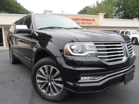 2016 Lincoln Navigator L for sale at North Georgia Auto Brokers in Snellville GA