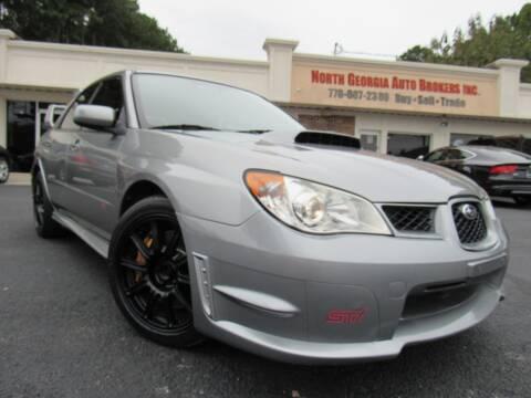 2007 Subaru Impreza for sale at North Georgia Auto Brokers in Snellville GA