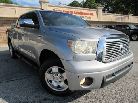 2010 Toyota Tundra for sale at North Georgia Auto Brokers in Snellville GA