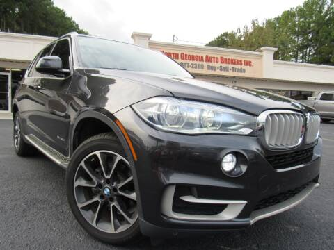 2015 BMW X5 for sale at North Georgia Auto Brokers in Snellville GA