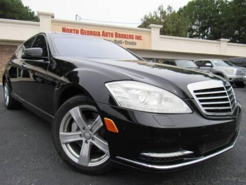 2010 Mercedes-Benz S-Class for sale at North Georgia Auto Brokers in Snellville GA