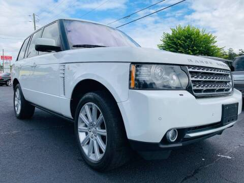 2012 Land Rover Range Rover for sale at North Georgia Auto Brokers in Snellville GA