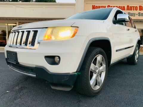 2011 Jeep Grand Cherokee for sale at North Georgia Auto Brokers in Snellville GA
