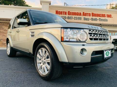 2013 Land Rover LR4 for sale at North Georgia Auto Brokers in Snellville GA