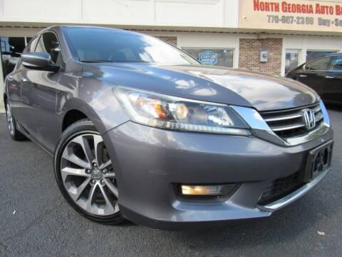 2014 Honda Accord for sale at North Georgia Auto Brokers in Snellville GA