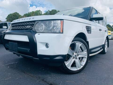 2011 Land Rover Range Rover Sport for sale at North Georgia Auto Brokers in Snellville GA