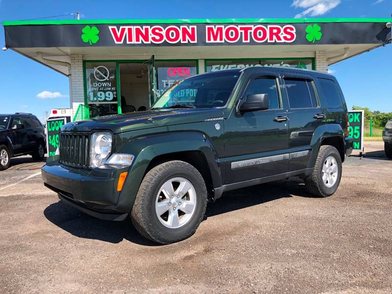 2011 Jeep Liberty For Sale At Vinson Motors In Clinton Township MI
