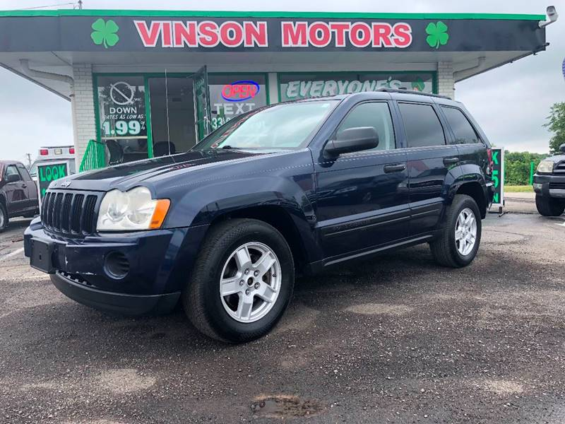 2005 Jeep Grand Cherokee For Sale At Vinson Motors In Clinton Township MI