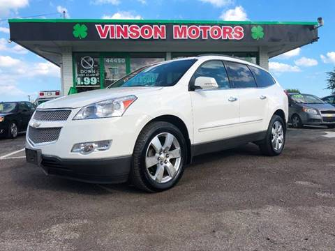 Used cars clinton township used pickups for sale lansing mi flint 2011 chevrolet traverse for sale at vinson motors 44450 n gratiot in clinton township mi publicscrutiny Gallery