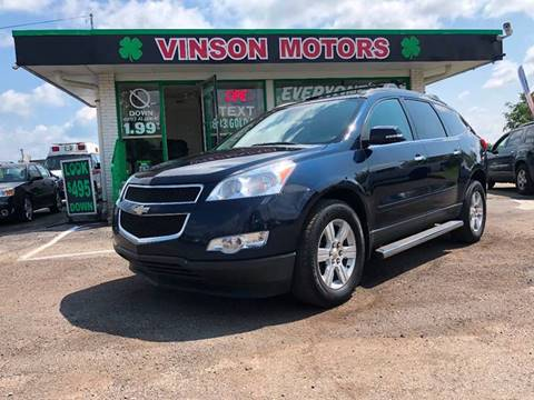 Used cars clinton township used pickups for sale lansing mi flint 2010 chevrolet traverse for sale at vinson motors 44450 n gratiot in clinton township mi publicscrutiny Gallery
