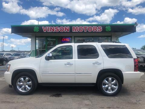 2014 Chevy Tahoe For Sale >> 2014 Chevrolet Tahoe For Sale In Clinton Township Mi
