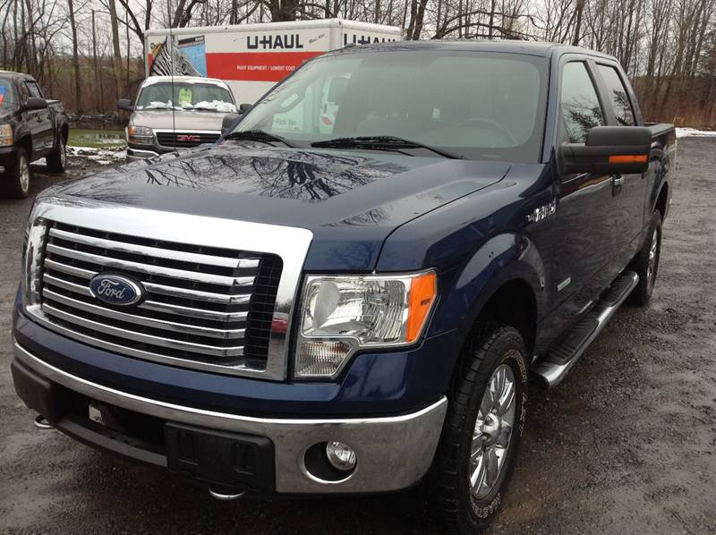 2011 Ford F-150 4x4 XLT 4dr SuperCrew Styleside 5.5 ft. SB - Central Square NY