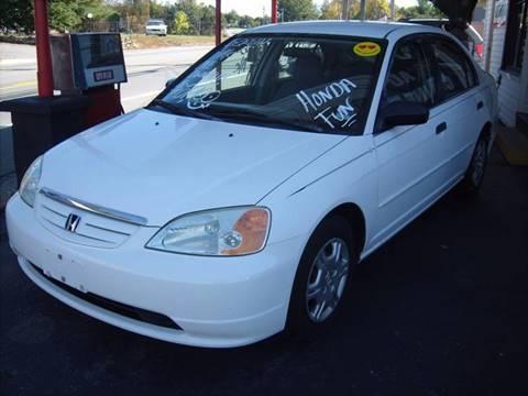 2001 Honda Civic for sale in Hudson, NH