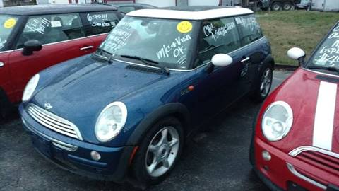 2003 MINI Cooper for sale at JR's Auto Connection in Hudson NH