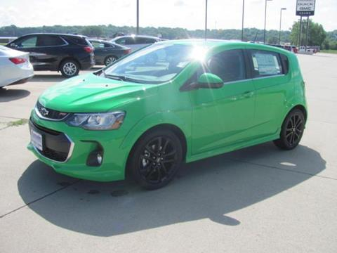 2017 Chevrolet Sonic for sale in Denison, IA