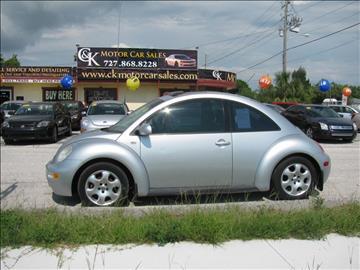 2002 Volkswagen New Beetle for sale in Hudson, FL