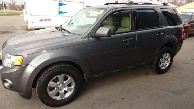 2010 Ford Escape for sale at CENTER AVENUE AUTO SALES in Brodhead WI