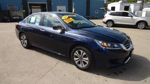 2015 Honda Accord for sale in Brodhead, WI