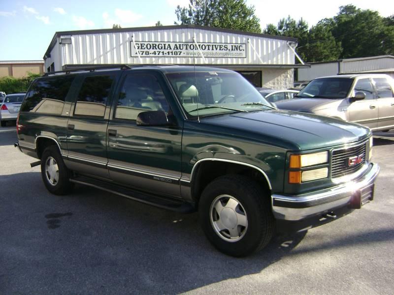 1998 GMC Suburban 4dr K1500 4WD SUV - Macon GA