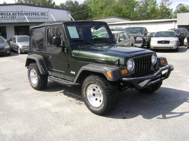 2004 Jeep Wrangler 2dr X 4WD SUV - Macon GA