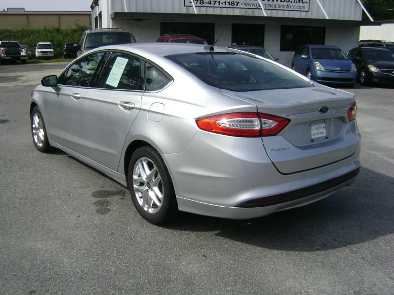 2013 Ford Fusion SE 4dr Sedan - Macon GA