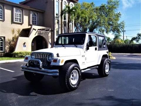 2006 jeep wrangler for sale in florida. Black Bedroom Furniture Sets. Home Design Ideas