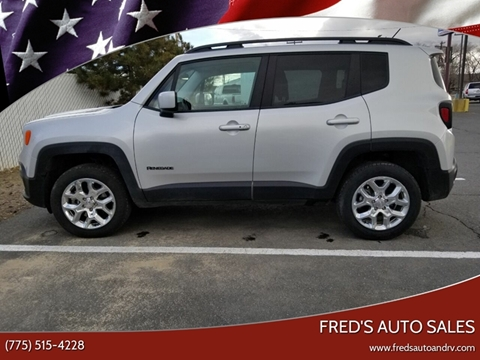 Carson City Jeep >> 2017 Jeep Renegade For Sale In Carson City Nv