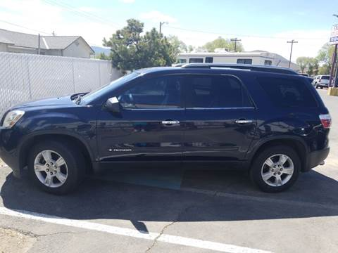 2008 GMC Acadia for sale in Carson City, NV