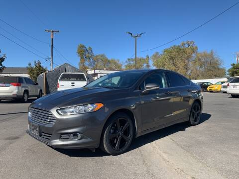 2016 Ford Fusion for sale at Freds Auto Sales LLC in Carson City NV