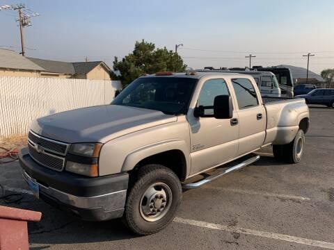 2006 Chevrolet Silverado 3500 for sale at Freds Auto Sales LLC in Carson City NV