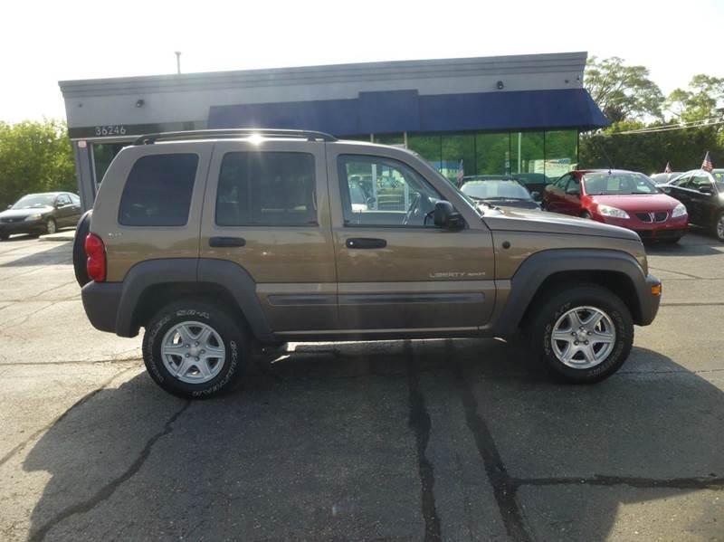 2002 Jeep Liberty 4dr Sport 4WD SUV - Clinton Township MI
