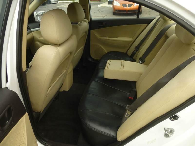 2009 Hyundai Sonata GLS 4dr Sedan - Clinton Township MI