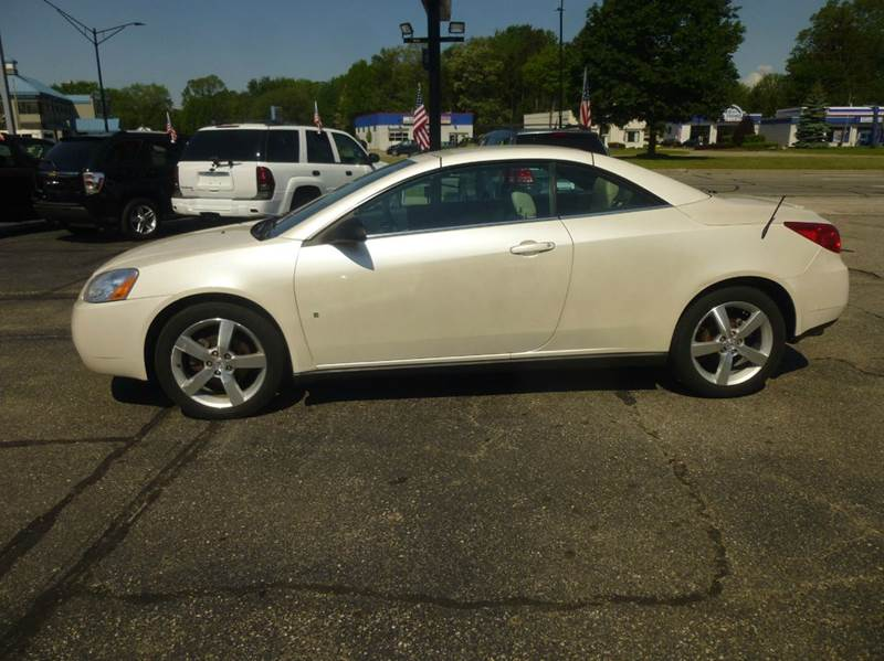 2009 Pontiac G6 GT 2dr Convertible w/1SA - Clinton Township MI