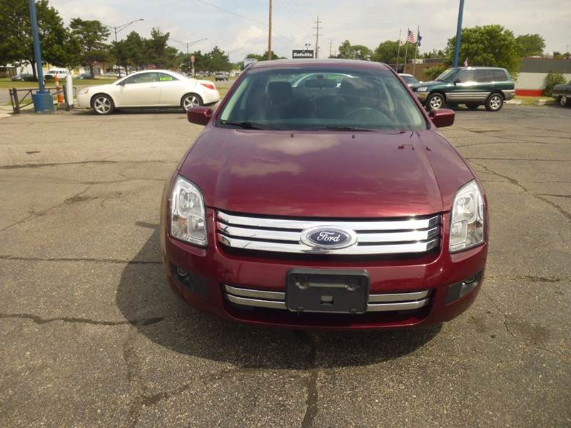 2007 Ford Fusion I-4 SE 4dr Sedan - Clinton Township MI