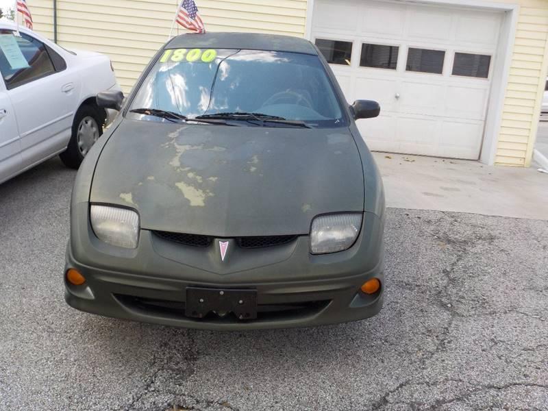 2000 Pontiac Sunfire Se 2dr Coupe In Terre Haute In Sebastian Auto