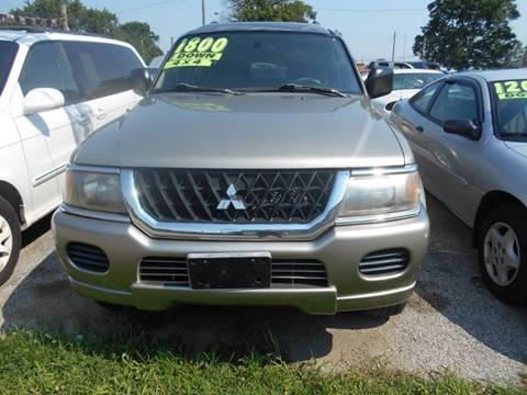 2003 Mitsubishi Montero Sport for sale in Terre Haute, IN