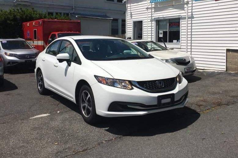 2015 Honda Civic SE 4dr Sedan   White Plains NY