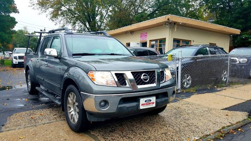 2009 Nissan Frontier 4x4 Se V6 4dr Crew Cab Lwb Pickup 5a In White