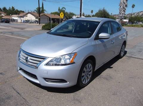 2014 Nissan Sentra for sale in Spring Valley, CA