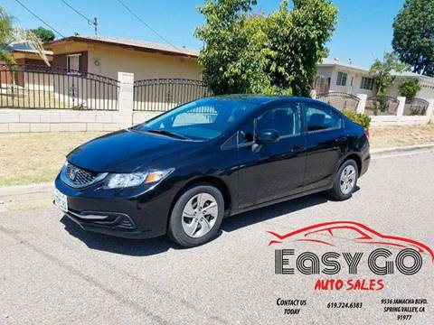 2013 Honda Civic for sale in Spring Valley, CA