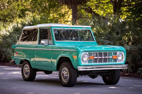 1975 Ford Bronco For Sale In Spring Valley CA