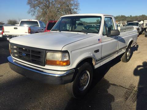 1997 Ford F-250 for sale at Truck & Van Country in Shingle Springs CA