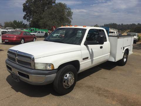 2001 Dodge Ram Pickup 3500 for sale at Truck & Van Country in Shingle Springs CA