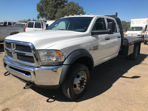 2013 RAM 4500 Crew Cab Flatbed for sale at Truck & Van Country in Shingle Springs CA