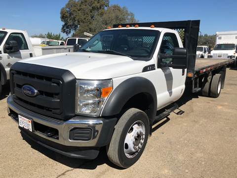 2013 Ford F-550 for sale at Truck & Van Country in Shingle Springs CA