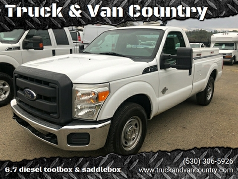 2012 Ford F-250 Super Duty XL for sale at Truck & Van Country in Shingle Springs CA