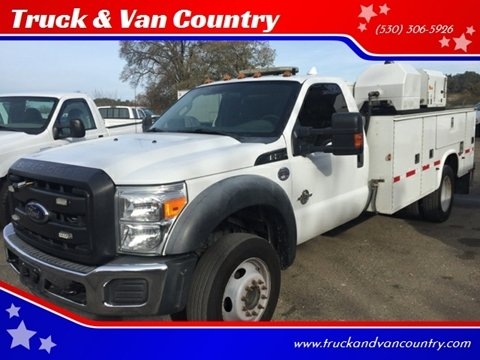 2012 Ford F-550 Super Duty for sale in Shingle Springs, CA