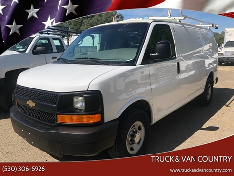 2013 Chevrolet Express Cargo 2500 for sale at Truck & Van Country in Shingle Springs CA