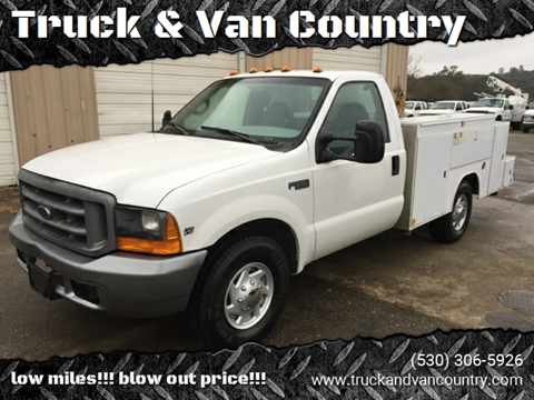 1999 Ford F-350 Super Duty for sale at Truck & Van Country in Shingle Springs CA